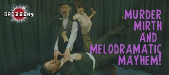 Gadzooks Melodrama banner ad for Eventbrite